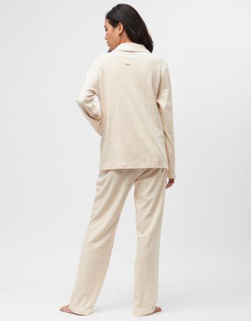 Striped Cotton PJ- W03ST1
