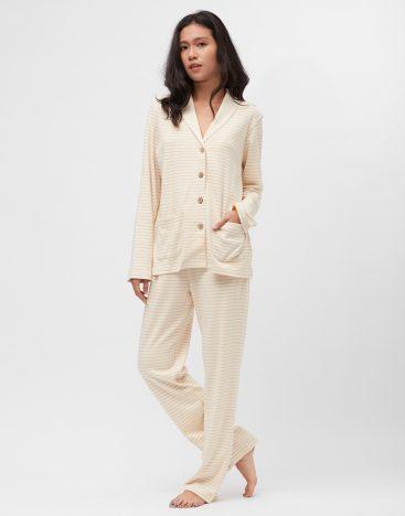 Striped Cotton PJ- W03ST4