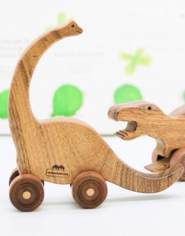 Wooden Toys – Brontosaurus Dinosaur