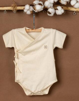 Mimi Organic cotton short sleeve bodysuit