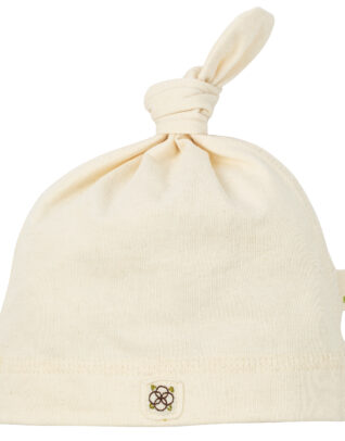 Mimi Organic Cotton baby hat knot