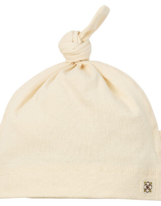 Mimi organic cotton baby hat beanie cap knotted