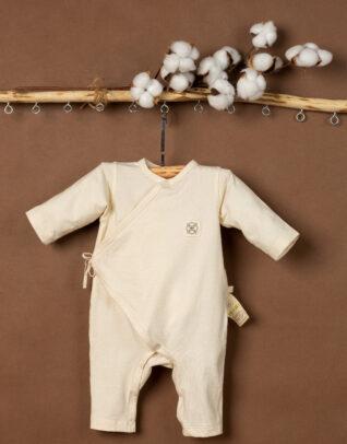 Mimi Organic Cotton kimono long sleeve bodysuit